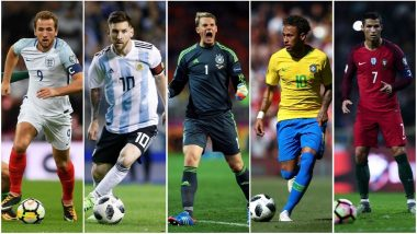 FIFA World Cup 2018 Countdown, 2 Days to Go: A Glimpse at the Best Players of All the 32 Teams Participating at Russia WC