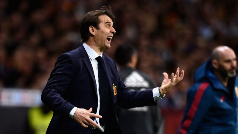 Julen Lopetegui Sacked as Spain's Coach Ahead of FIFA World Cup 2018, Pays Price To Sign as Real Madrid's Head Coach!