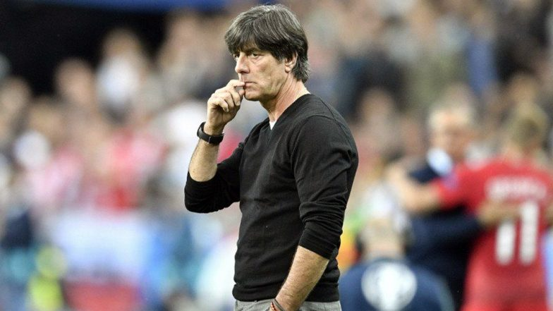 German Coach Joachim Löw Caught on Camera Putting Hand in His Underwear & Sniffing the Same