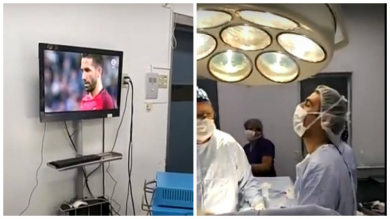 2018 FIFA World Cup Match in Hospital Operation Theater is FAKE! Doctors Celebrating Penalty Save While Performing Surgery is an Old Video