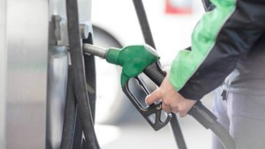 Fuel Rates Update: Petrol Price Down by 6 Paise Per Litre and Diesel by 5 Paise
