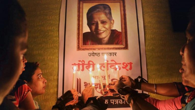 Gauri Lankesh Murder Case: Accused Parshuram Waghmore 'Confesses' to Have Fire The Fatal Bullet