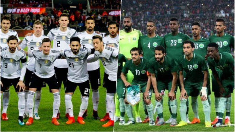 Germany Defeat Saudi Arabia 2-1 in Pre-World Cup Friendly