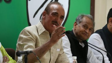 Ghulam Nabi Azad Denied Entry Into J&K Again, Sent Back to Delhi From Jammu Airport