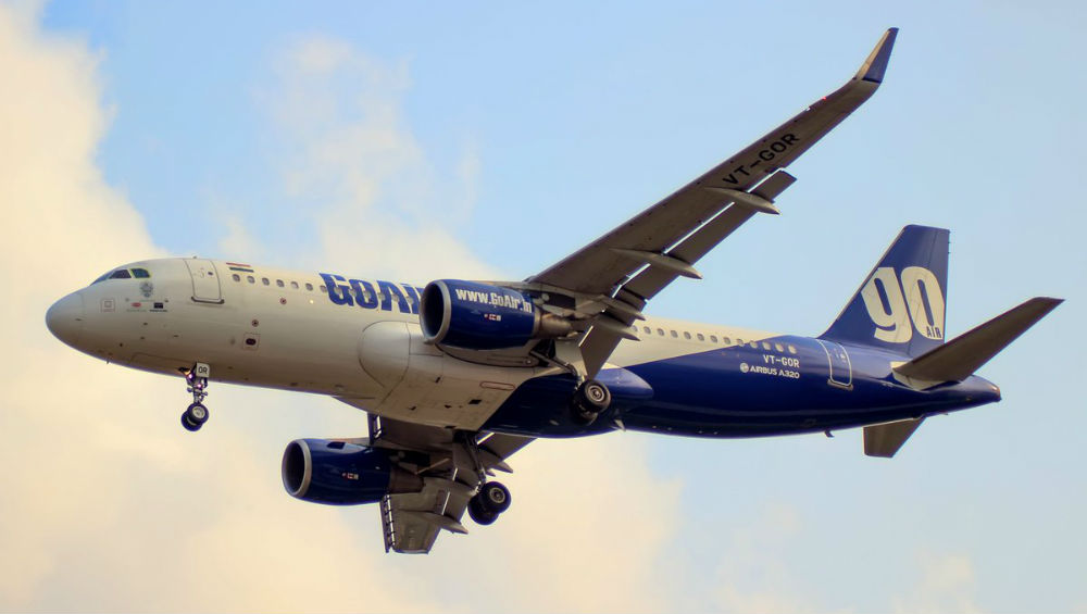 GoAir Ahmedabad to Bengaluru Flight Suffers Damage & Small Fire From Foreign Object While Take-Off, All Passengers Safe