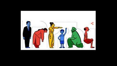 Prasanta Chandra Mahalanobis' 125th Birthday: Google Honours Indian Scientist With a Doodle