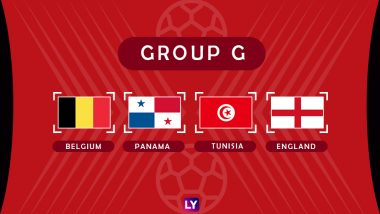 2018 FIFA World Cup Group G Points Table: Team Standings of England, Belgium, Panama and Tunisia