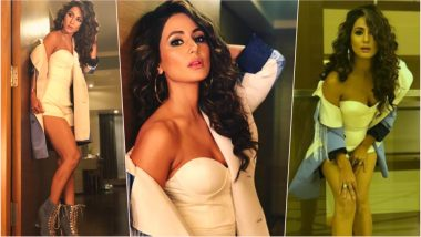 Hot Alert! Hina Khan Posts Pictures in Sexy Romper, TV Actress' Oomph Will Leave You Sweating