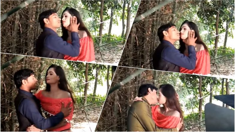 How to Kiss on Lips Aka 'Kiss Kaise Hota Hai' Taught by This Bhojpuri Director Is a Laugh Riot (Watch Video)