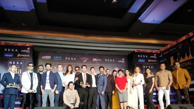 IIFA Awards 2018 Press Conference Pics: Varun Dhawan, Karan Johar, Kriti Sanon and Other Celebs Celebrate Cinema in Thailand