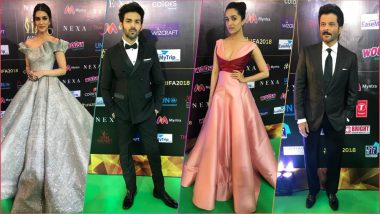 IIFA 2018 Green Carpet Pics: Kriti Sanon, Shraddha Kapoor, Anil Kapoor, Kartik Aaryan & Other Celebs Slay it in Style