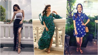 IIFA 2018: Kriti Sanon, Mouni Roy, Dia Mirza & Other Celebs Opt for Easy-Breezy Summer Styles in Thailand