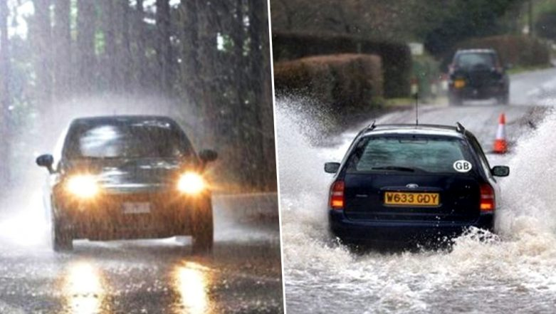 Driving in Monsoon: Traffic Guidelines & Precautions to follow this Rainy Season