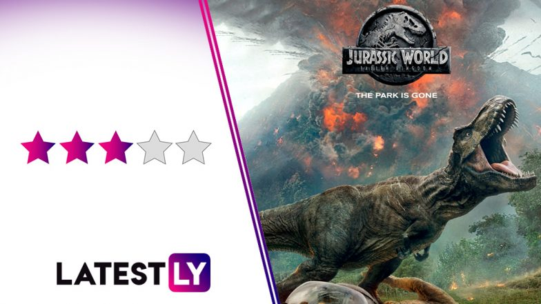 Jurassic World Fallen Kingdom Movie Review: Dinosaurs Rule, Humans