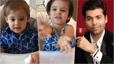 Father's Day Special: Karan Johar Is Playing Rapid Fire With Kids Yash and Roohi, at Least We Felt So After Watching This Adorable Video!