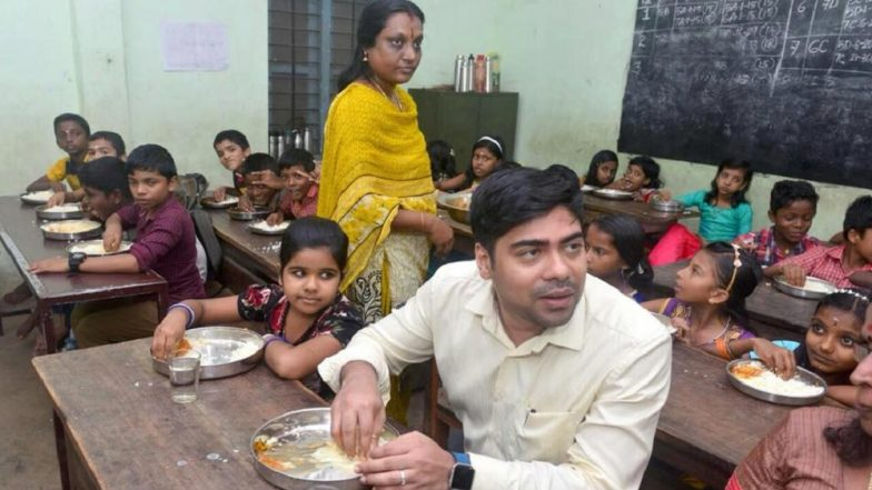 Kerala IAS Officer S Suhas Eats Mid-Day Meal With Students to Assess Food Quality, Wins Hearts