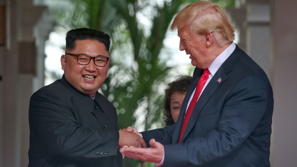 Kim Jong un Donald Trump.'