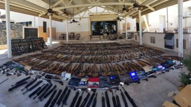 U.S. Has A Gun Problem: LA Police Recover Arsenal of 500 Guns From Convicted Man's Home