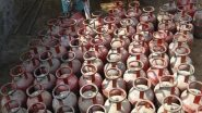 LPG Cylinder Price Hiked Across India, Domestic Gas to Cost Rs 593 per Cylinder in Delhi, Rs 590.50 in Mumbai; Check Rates in Metro Cities
