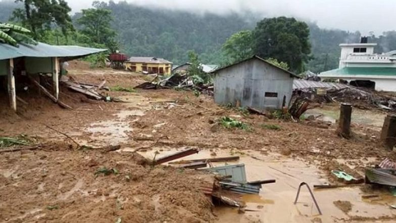 Landslides in Uttrakhand's Tehri District, Block Chamba-Rishikesh NH-94