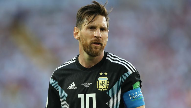 Lionel Messi Hits The Gym After Loss to Colombia in Copa America 2019 Opener