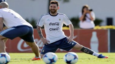 2018 FIFA World Cup: Lionel Messi Fans Flock to Argentine Open Practice