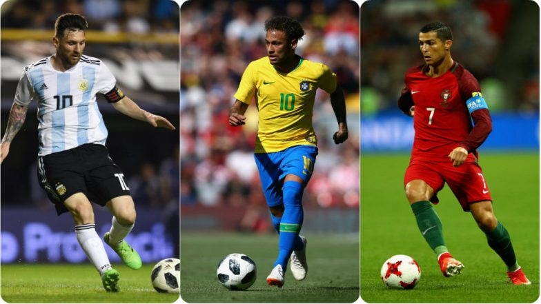 Lionel Messi, Cristiano Ronaldo, Neymar  –  Top Players to Watch Out For at FIFA World Cup 2018!