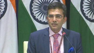 Pakistan Used Its Air Force to Target India's Military Installations, Bid Foiled: MEA Raveesh Kumar