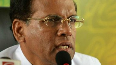 Don't Leave Room for Muslim Prabhakaran, Says Sri Lanka President Maithripala Sirisena
