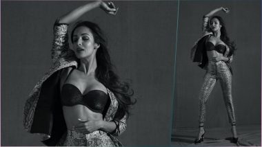 Malaika Arora Flaunting Sexy Black Bra and Printed Pantsuits on Instagram Is Insanely Hot (See Picture)