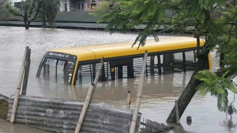 Manipur Witnesses Heavy Downpour for Third Consecutive Day, Assam Hit by Rains Too