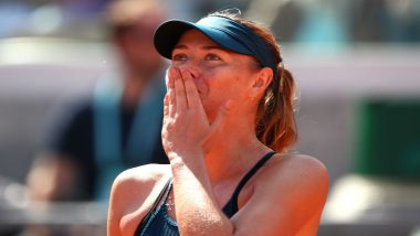 French Open 2018: Maria Sharapova Defeat Donna Vekic, Books Place in 3rd Round