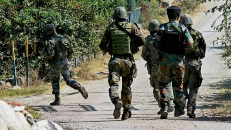 Jammu and Kashmir: Encounter Breaks Out in Shopian District; Two-Three Terrorists Hiding in The Area