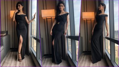 Mouni Roy Looks Bewitching in Black Tanieya Khanuja Off Shoulder Dress at IIFA 2018 – Is This Appearance a Fab or Drab? (See Pics)