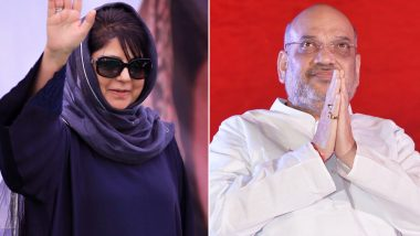 Mehbooba Mufti Attacks BJP, Says 'Amit Shah Won't be Able Set to Foot in Jammu & Kashmir If Article 370 Revoked'