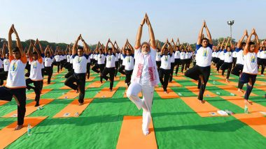 Yoga Day 2019: PM Narendra Modi Urges Citizens to Make Yoga an Integral Part of Their Lives