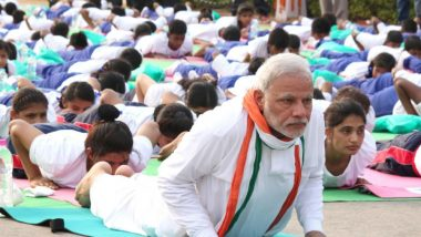 8 Quotes By PM Narendra Modi on International Day of Yoga