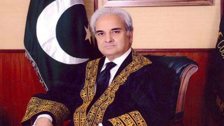 Justice Nasirul Mulk Takes Oath as Caretaker Pakistan Prime Minister
