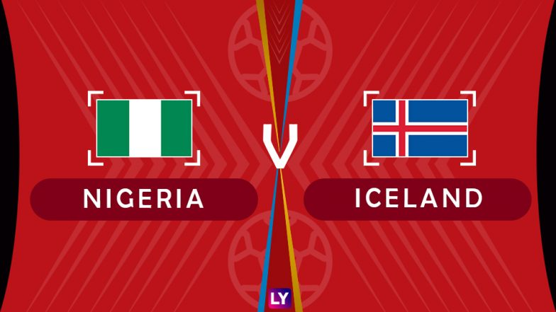 Nigeria vs Iceland Live Streaming of Group D Football Match: Get Telecast & Free Online Stream Details in India for 2018 FIFA World Cup