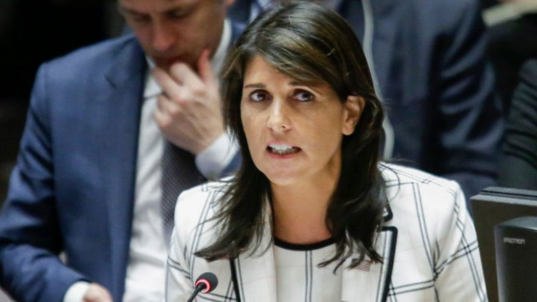 Nikki Haley Slams New York Times For 'Fake News' on Her 'Expensive Curtains'
