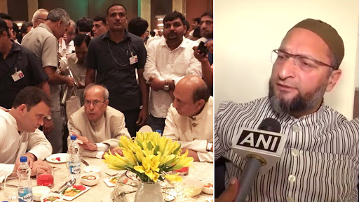 Rahul Gandhi Iftar Party: AIMIM Chief Asaduddin Owaisi Says Congress 'Not Interested in Muslim Empowerment'
