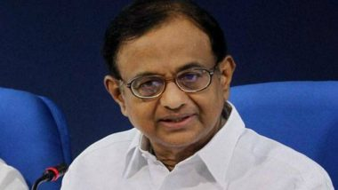 P Chidambaram's Plea Against ED in INX Media Case to be Heard by Supreme Court on August 27
