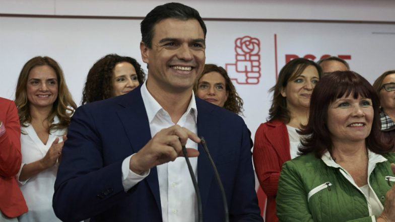 Opposition Leader Pedro Sanchez Becomes Spain's New Prime Minister