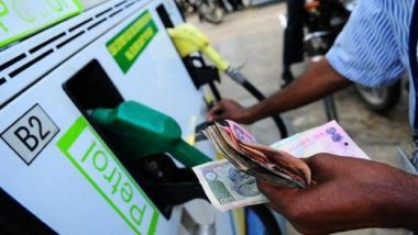 Fuel Price in India Continue to Rise, Petrol at Rs 70.72 per Litre in Delhi, Rs 76.35 per Litre in Mumbai