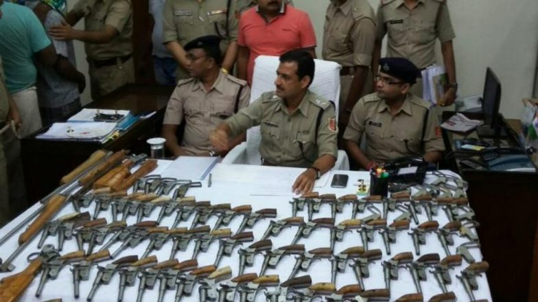 Two Gunrunners Arrested in Delhi, 31 Pistols Seized