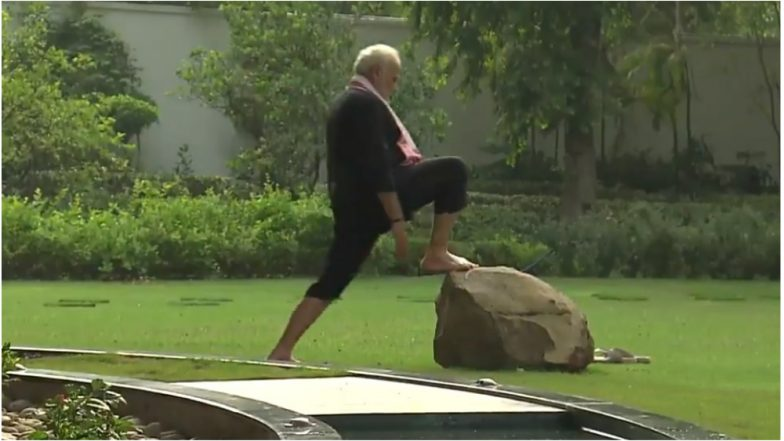Anupam Kher Calls Narendra Modi 'Rockstar' After PM Posted Fitness Video on Social Media