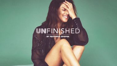 Priyanka Chopra Unveils the Cover of Her Memoir 'Unfinished' With This Powerful Message