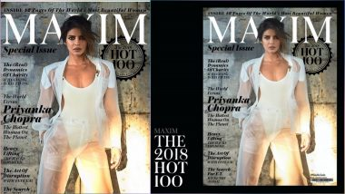 Priyanka Chopra Crowned 'Hottest Woman on Planet'! The Hot Magazine Cover Picture Will Prove Why