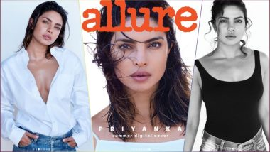 Priyanka Chopra Sexes It Up As Allure Magazine's First Digital Cover Girl! See Bold Pics of Hot Bollywood Actress