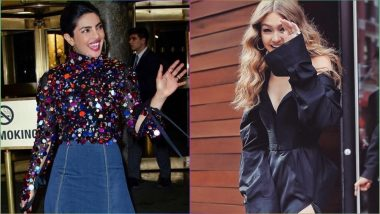 Priyanka Chopra and Gigi Hadid Post Awesome Comments on Each Other's Instagram Photos, Should Nick Jonas Be Feeling Left Out?